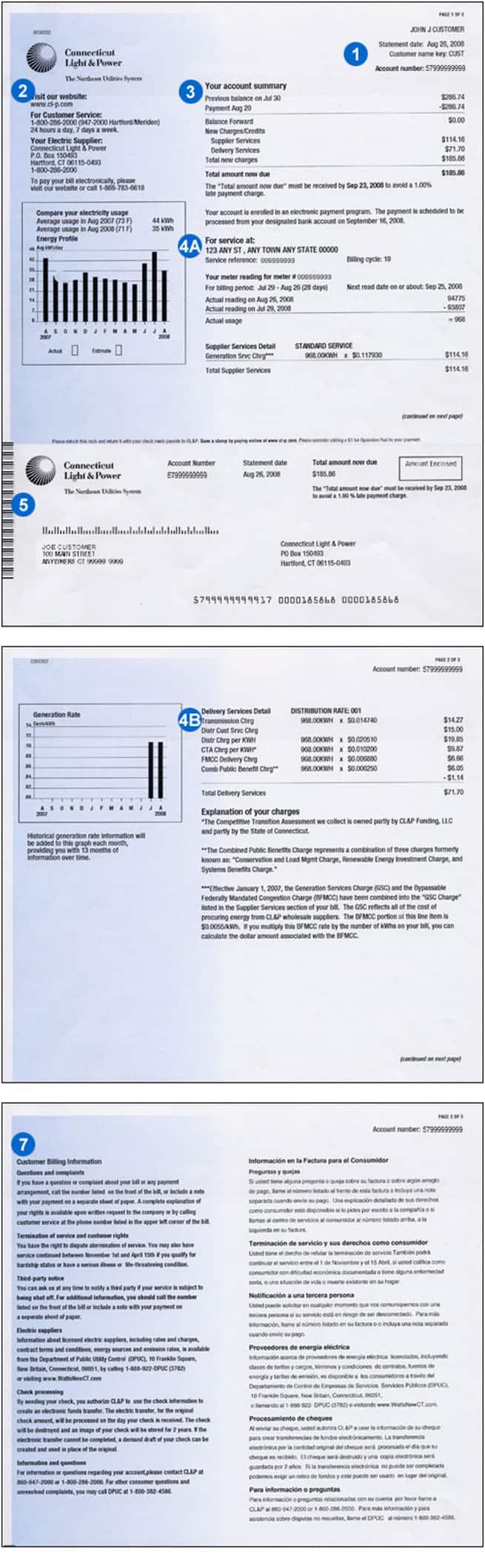 Clp Electric Bill